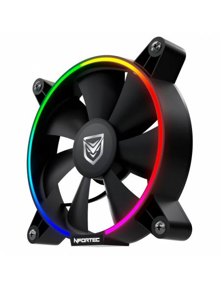 Nfortec Oberon RGB RING Fan
